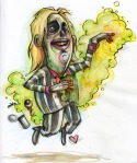 Beetlejuice, in colour