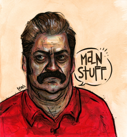 Ron Swanson: Man Stuff